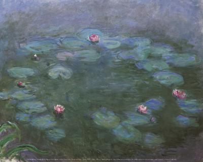 Water Lilies-Claude Monet-Art Print