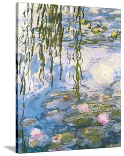 Water Lilies-Claude Monet-Stretched Canvas Print