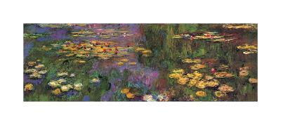 Water Lilies-Claude Monet-Giclee Print