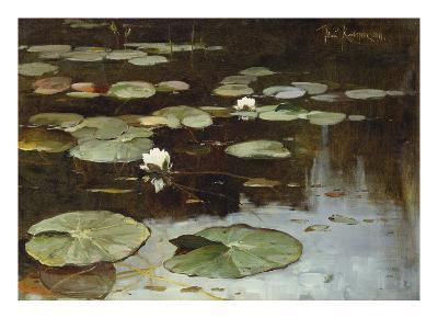 Water Lilies-Julius Sergius Klever-Giclee Print