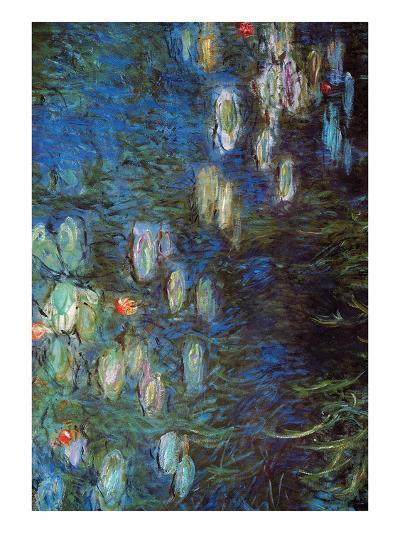 Water Lillies-Claude Monet-Art Print