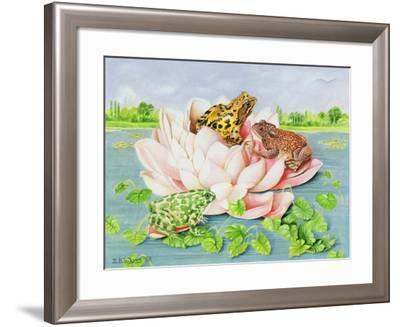 Water Lily, 1998-E.B. Watts-Framed Giclee Print