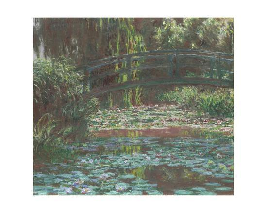 Water Lily Pond, 1900-Claude Monet-Giclee Print