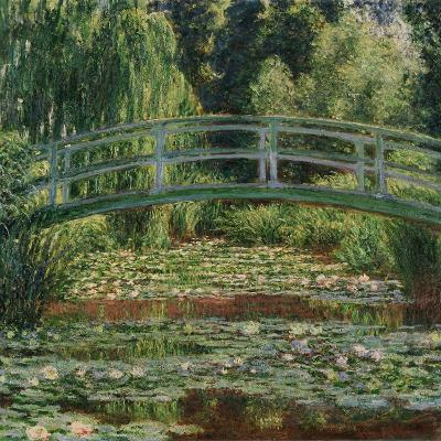 Water Lily Pool, 1899-Claude Monet-Giclee Print