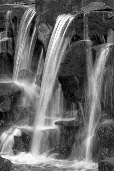 Water on the Rocks I BW-Douglas Taylor-Photo