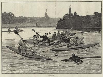 Water Polo-Edward Morant Cox-Giclee Print