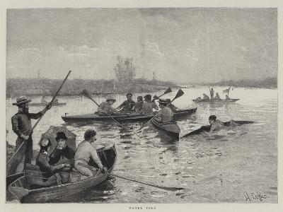 Water Polo--Giclee Print