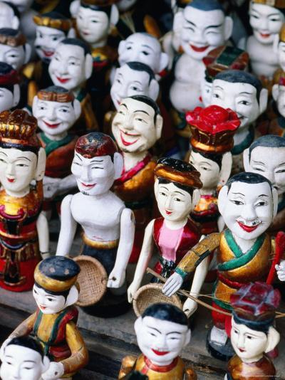 Water Puppets for Sale, Hanoi, Vietnam-Christopher Groenhout-Photographic Print