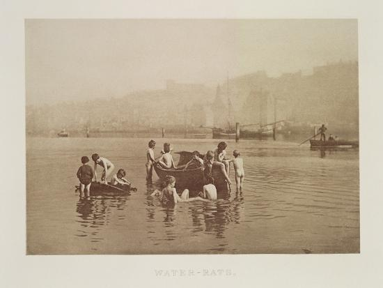 Water-Rats, C.1889-Frank Meadow Sutcliffe-Photographic Print