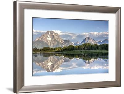 Water Reflection of Mount Moran-Richard Maschmeyer-Framed Photographic Print