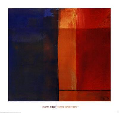 Water Reflections-Jaume Ribas-Art Print