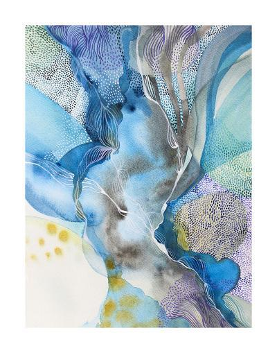 Water Series in The Flow-Helen Wells-Art Print