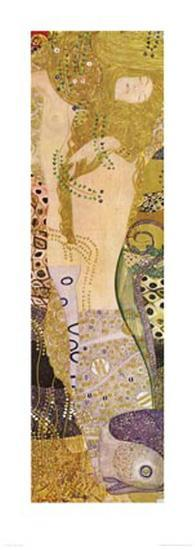 Water Serpents I, c.1907-Gustav Klimt-Art Print