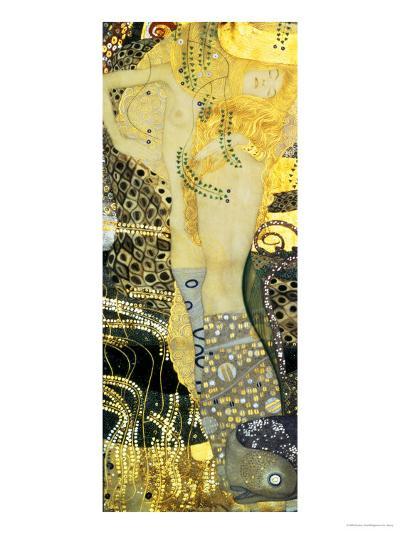 Water Serpents I, c.1907-Gustav Klimt-Giclee Print