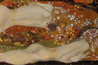 Water Serpents II, 1904-07-Gustav Klimt-Giclee Print