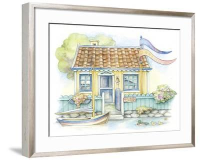 Water Side Cottage-Kim Jacobs-Framed Giclee Print