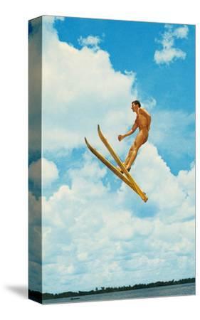 Water Skier Mid-Air