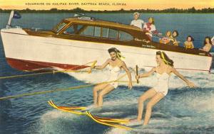 Water Skiers, Daytona Beach, Florida