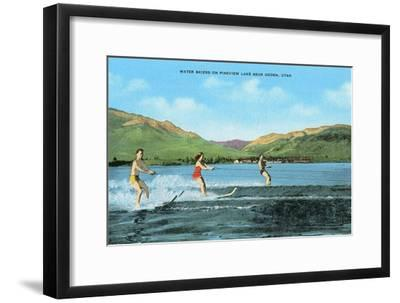 Water Skiers, Pineview Lake