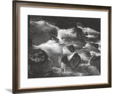 Water Splashing in River-Clive Nolan-Framed Photographic Print