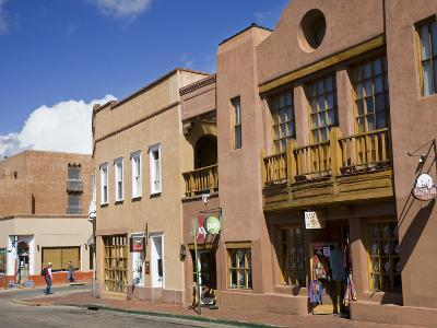 Water Street, Santa Fe, New Mexico, United States of America, North America-Richard Cummins-Photographic Print