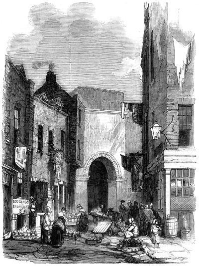 Water Tank in St Giles's in the Fields, London, 1858--Giclee Print