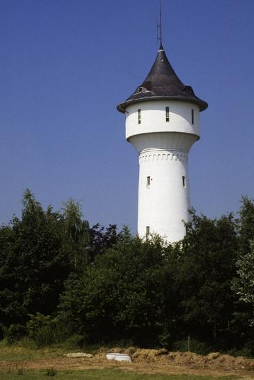 Water Tower in Wuppertal, North Rhine-Westphalia, Germany--Photographic Print