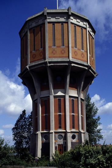Water Tower of Leiden (1908), the Netherlands--Photographic Print