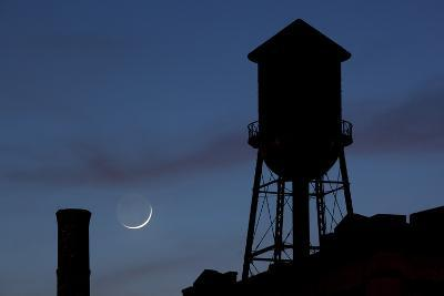 Water Towers, Jersey City, New Jersey-Paul Souders-Photographic Print