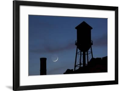 Water Towers, Jersey City, New Jersey-Paul Souders-Framed Photographic Print