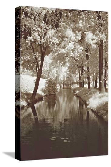 Water Under the Bridge-Ily Szilyagi-Stretched Canvas Print