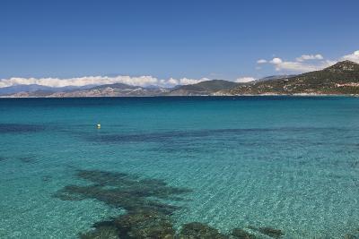 Water View, Ille Rousse, La Balagne, Corsica, France-Walter Bibikow-Photographic Print