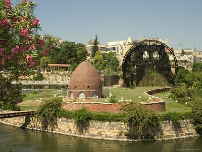 Water Wheel on the Orontes River, Hama, Syria, Middle East-Christian Kober-Photographic Print