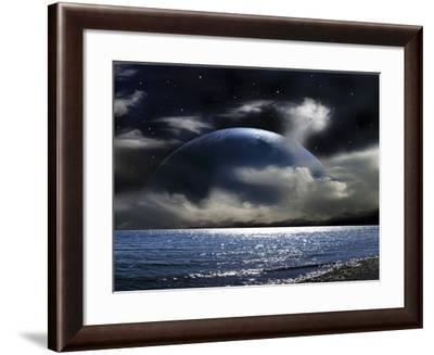 Water World--Framed Photographic Print