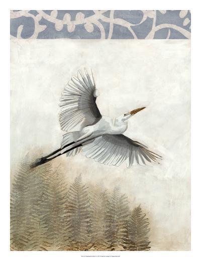 Waterbirds in Mist I-Naomi McCavitt-Giclee Print