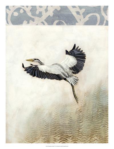 Waterbirds in Mist IV-Naomi McCavitt-Giclee Print