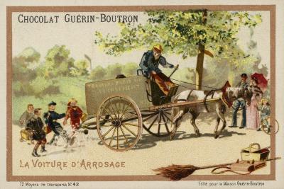 Watercart--Giclee Print