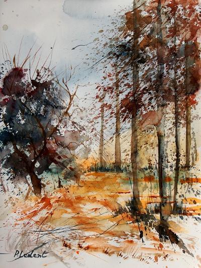 Watercolor 040902-Pol Ledent-Art Print
