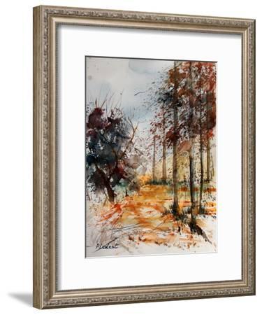 Watercolor 040902-Pol Ledent-Framed Art Print