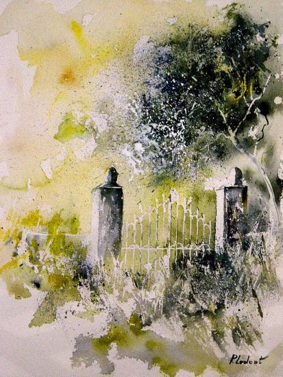 Watercolor 110304-Pol Ledent-Art Print