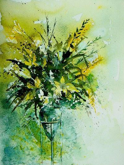 Watercolor 120406-Pol Ledent-Art Print