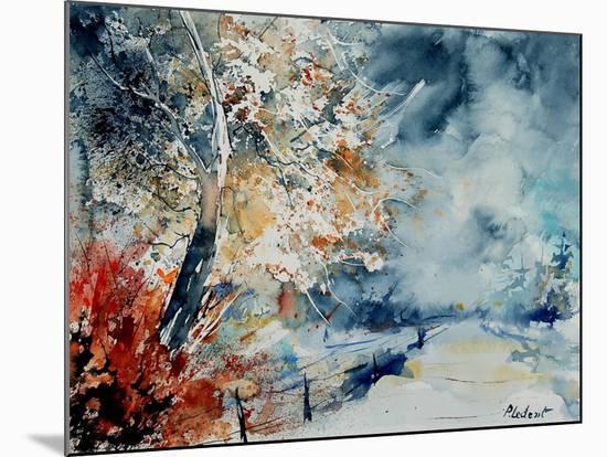 Watercolor 12414526-Pol Ledent-Mounted Art Print