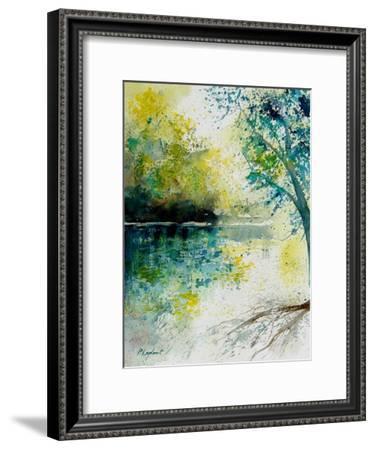 Watercolor 130605-Pol Ledent-Framed Art Print