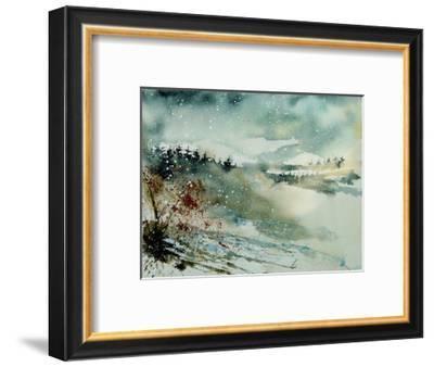Watercolor 130606-Pol Ledent-Framed Art Print