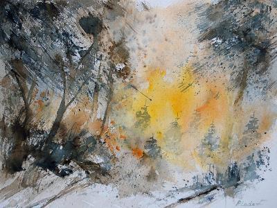 Watercolor 131206-Pol Ledent-Art Print