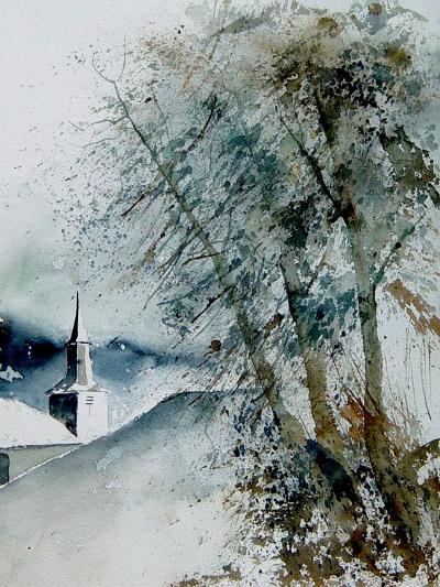 Watercolor 140605-Pol Ledent-Art Print