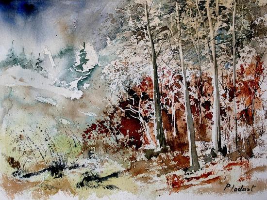 Watercolor 200307-Pol Ledent-Art Print