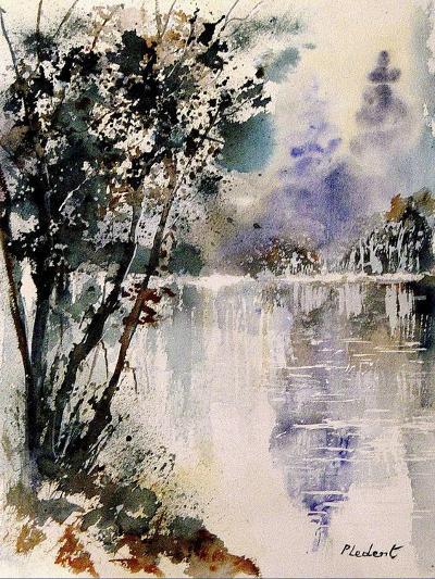Watercolor 231203-Pol Ledent-Art Print
