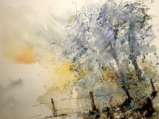 Watercolor 240505-Pol Ledent-Art Print