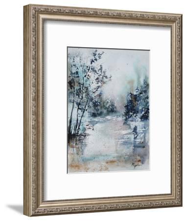 Watercolor 251203-Pol Ledent-Framed Art Print